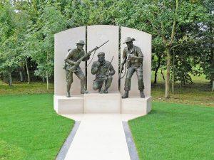 Devon and Dorset Regimental Memorial by Vivien Mallock