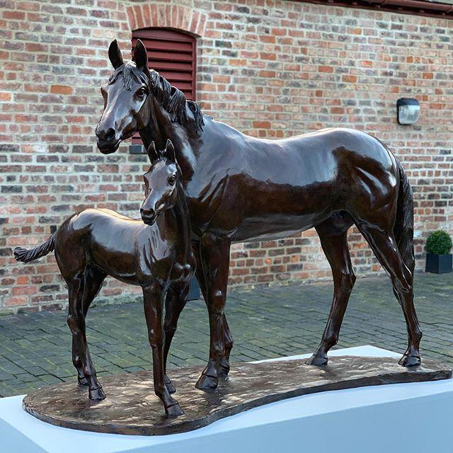 Philip Blacker - Mare and Foal