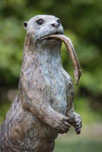 Position of fish Otter - Susie Wilson
