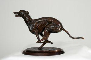 Study of a Greyhound - William Newton