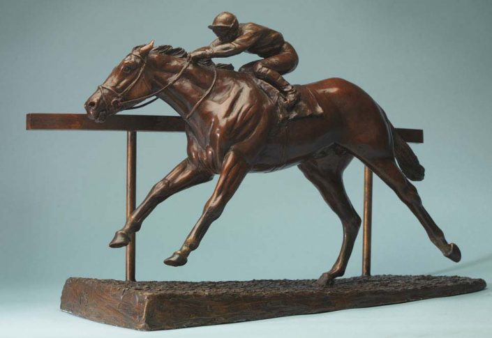 Turning for home at Ascot - Philip Blacker