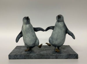 Bryn Parry 'Pair of penguins'