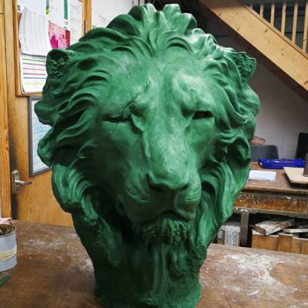 Lion by Pleased to be starting work on the second lion by artist Geoffrey Lignon