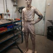 Lester by artist William Newton is coming together nicely