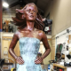 Life size Irish Dancer by artist Vivien Mallock