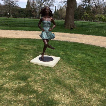 Vivi's Irish Dancer in her fabulous new setting