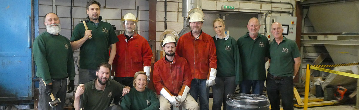 Talos Art Foundry team