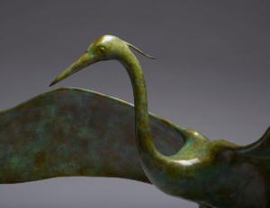 Heron Landing, by Piers Mason