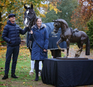 Velegro with Carl Hester and Charlotte Dujardin